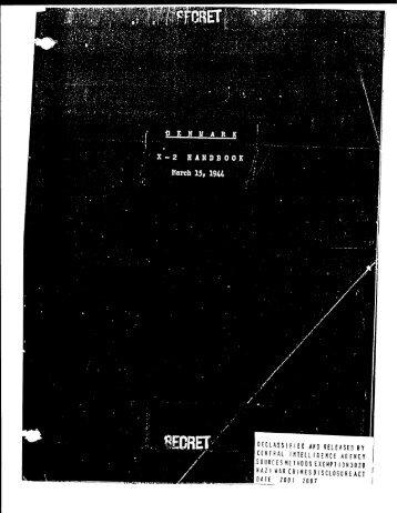 secret - CIA FOIA