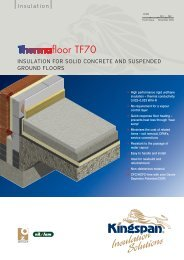 Thermafloor TF70 insulation for solid concrete and ... - CMS