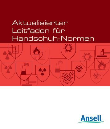 EN-Leitfaden herunterladen - Ansell Healthcare Europe
