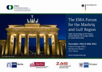 Preliminary Program - EMA