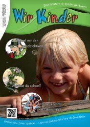 Wir Kinder 1/2012 - Katercom
