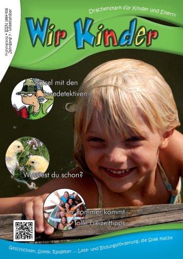 Wir Kinder 1/2012 - Katercom