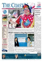 The Coast News, July 6, 2012