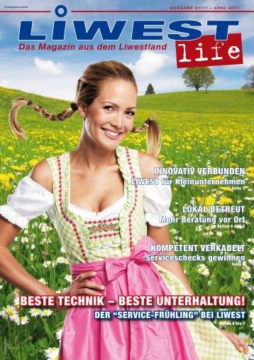 BESTE TEchNIK – BESTE UNTERhALTUNg!