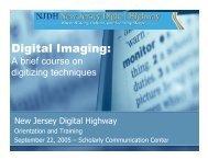 Digital Imaging: - ODIN