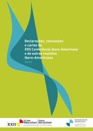 Declarações, conclusões e cartas da XXII Conferência Ibero ... - Segib