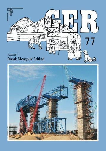 Ger 77 - danskmongolskselskab.dk