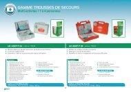 GAMME TROUSSES DE SECOURS - Eurosgos.com