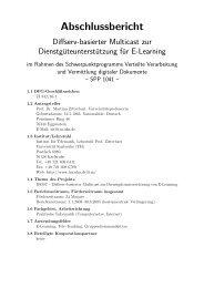 Abschlussbericht - Karlsruher Institut für Technologie (KIT) - Institut ...