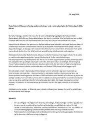 10. maj 2010 Naturhistorisk Museums forslag og ... - Mols Bjerge