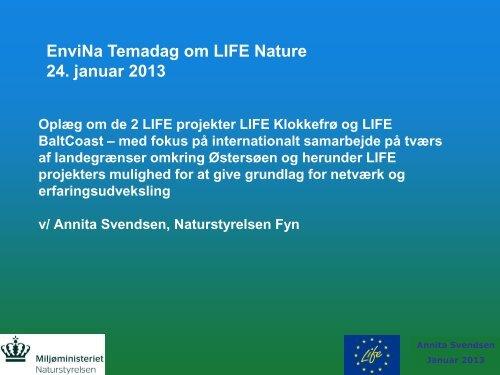 Annita Svendsen, Naturstyrelsen Fyn