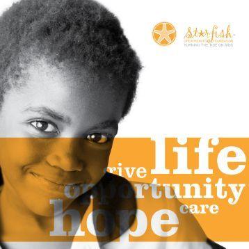 Brochure - Starfish Greathearts Foundation