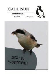 August 2011 (5,0 Mb) - DOF Bornholm