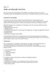 7d Studie og ordensregler (PDF) - Viby Gymnasium