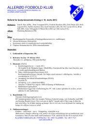 Referat (19-03-2013) - Allerød Fodbold Klub