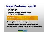 Den samplede generation - Fremtidsforskeren Jesper Bo Jensen