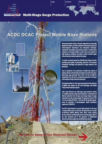 ACDC Protect Mobile Base Stations - ACDC Surge Protectors (http://shop.acdc-dcac.eu/)