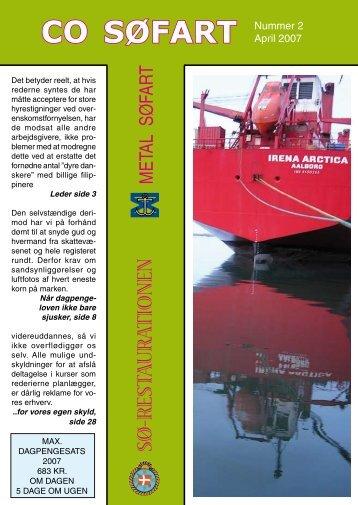 Fagblad 2-2007 - CO-SEA