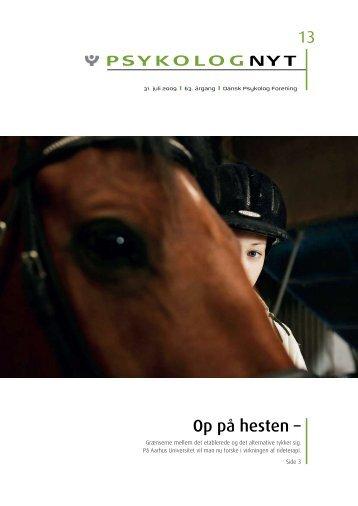 Op på hesten – - Elbo