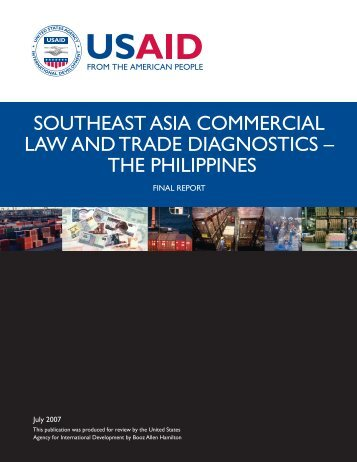The Philippines - Economic Growth - usaid