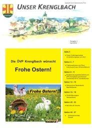 Unser Krenglbach – Ausgabe April 2012