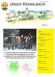 Unser Krenglbach – Ausgabe Dezember 2011
