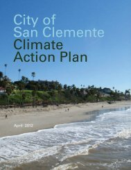 City of San Clemente Climate Action Plan