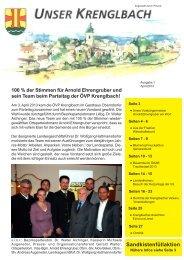 Unser Krenglbach – Ausgabe April 2013