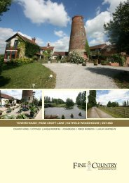 TOWER HOUSE | MOSS CROFT LANE | HATFIELD ... - Fine & Country
