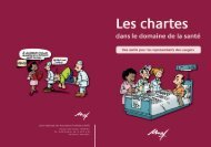 Les chartes dans le domaine de la santé
