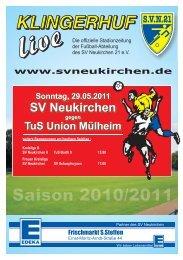 Stadionheft Nr.13 - SV Neukirchen