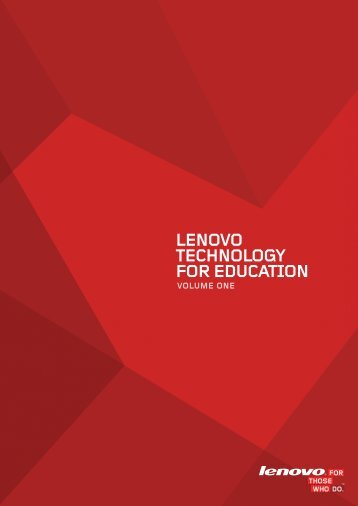 LENOVO TECHNOLOGY FOR EDUCATION - Lenovo | US