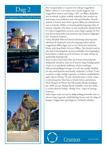 Resjseplan m. billeder - Cramon Kulturrejser