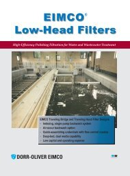 Low-Head Tertiary Filters - CMS