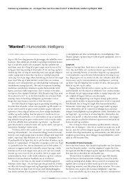 'Wanted': Humoristisk intelligens - Instituttet for Fremtidsforskning