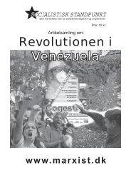 Revolutionen i Venezuela - Socialistisk Standpunkt