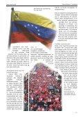 Revolutionen i Venezuela - Socialistisk Standpunkt - Page 3