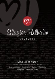 Slagter Lilholm - slagterfalling.dk