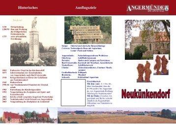 Neukünkendorf - Angermünde
