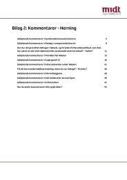 Bilag 2: Kommentarer - Herning - Region Midtjylland