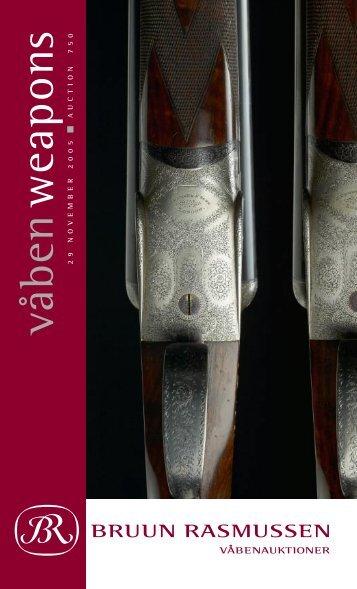 våben w eapons - Bruun Rasmussen