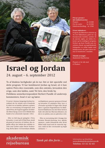 Israel og Jordan - Politiken Plus