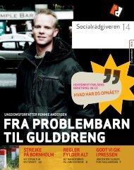Socialrådgiveren nr. 14-2010 - Dansk Socialrådgiverforening