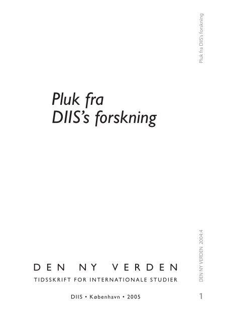 DNV2004-4 De 'nye kriges' økonomiske logik - DIIS