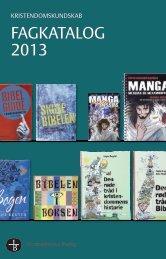 Skolekatalog 2013 - Bibelselskabet