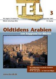 Oldtidens Arabien - Selskab for Bibelsk Arkæologi