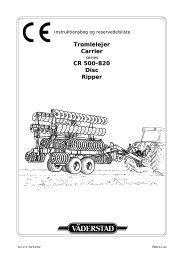 Tromlelejer Carrier CR 500-820 Disc Ripper - Hjallerup ...