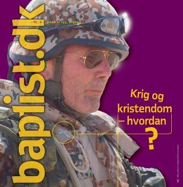 Nr. 6 - 2008 - Baptistkirken i Danmark