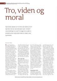 Hvad handler debatten om tro kontra viden dybest set om? Og ... - Elbo