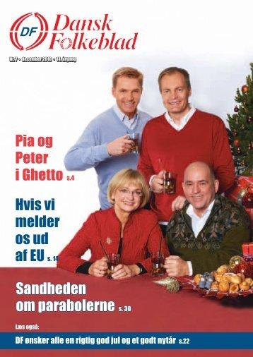Sandheden om parabolerne s. 30 Pia og Peter i ... - Dansk Folkeparti